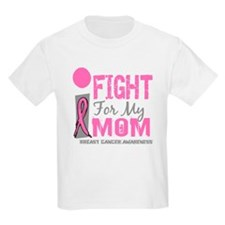 Unique I wear pink ribbon my mom mother T-Shirt