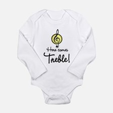 Cute Composer Long Sleeve Infant Bodysuit