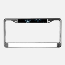 Snowflakes Kind of Night License Plate Frame