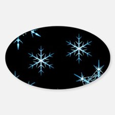 Snowflakes Kind of Night Decal