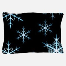 Snowflakes Kind of Night Pillow Case