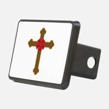 Rosy Cross Hitch Cover