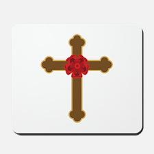 Rosy Cross Mousepad
