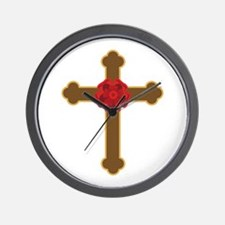 Rosy Cross Wall Clock