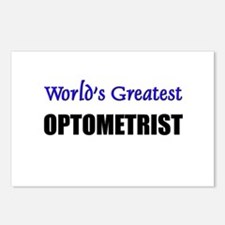 Worlds Greatest OPTOMETRIST Postcards (Package of