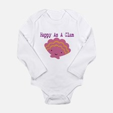 Unique Pink girl Long Sleeve Infant Bodysuit