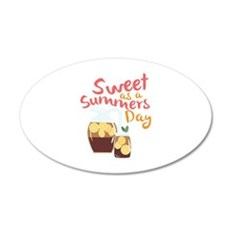 Sweet Summer Day Wall Decal