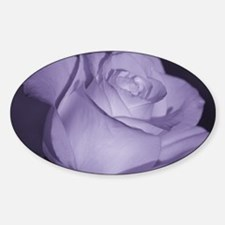 Purple Tint Rose Decal