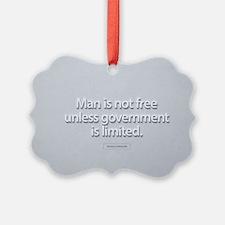 President Ronald Reagan Quote Ornament