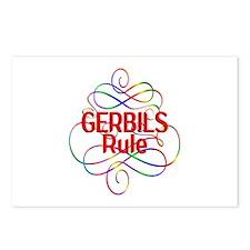 Gerbils Rule Postcards (Package of 8)