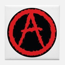 Anarchy - Trust no one Tile Coaster