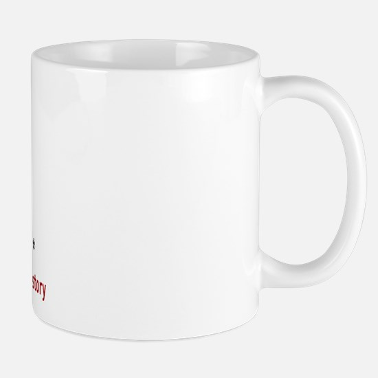 Warning: Novelist at Work Mug