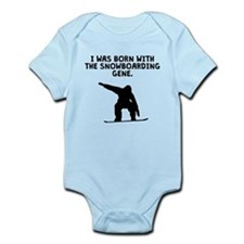 Born With The Snowboarding Gene Body Suit