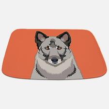 Norwegian Elkhound Bathmat
