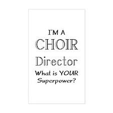 choir director Decal