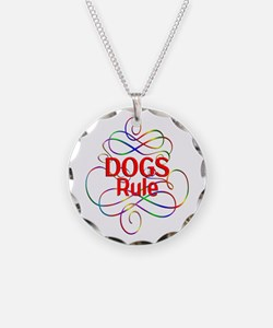Dogs Rule Necklace