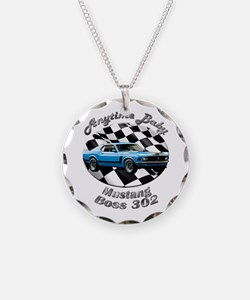 Ford Mustang Boss 302 Necklace