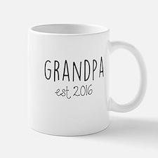 Grandpa Est. 2016 Mugs