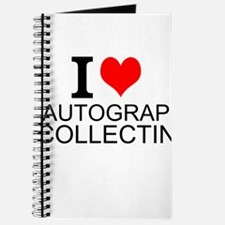 I Love Autograph Collecting Journal