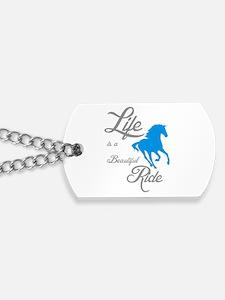 Cute American quarter horse Dog Tags