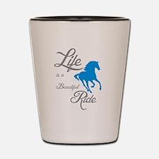 Cute American quarter horse Shot Glass