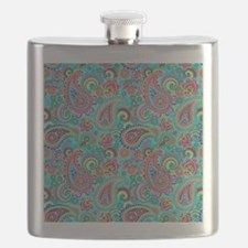 Funny Ornate Flask