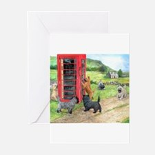 Cute Cairn terrier Greeting Cards (Pk of 10)