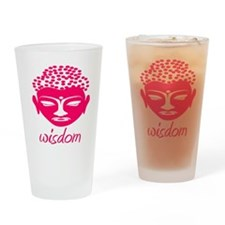 Wisdom Buddha Drinking Glass