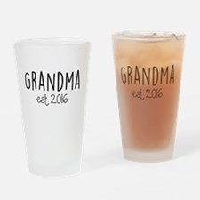 Grandma Est. 2016 Drinking Glass