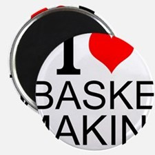 I Love Basket Making Magnets