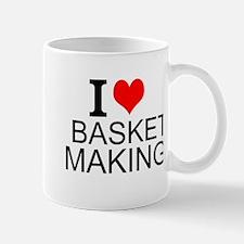 I Love Basket Making Mugs