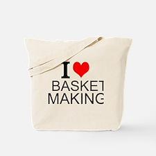 I Love Basket Making Tote Bag