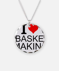 I Love Basket Making Necklace