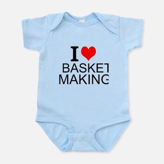 I Love Basket Making Body Suit