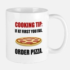 Cooking Tip Pizza Mugs