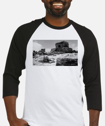 Temples of Tulum. Baseball Jersey