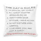 Cat Woven Pillows