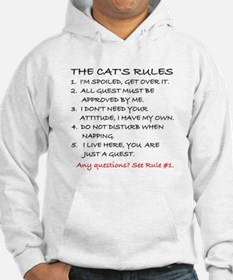THE CAT'S RULES Hoodie