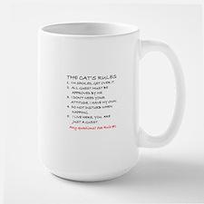 THE CAT'S RULES Large Mug