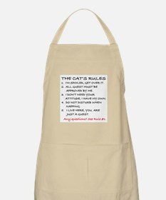 THE CAT'S RULES Apron