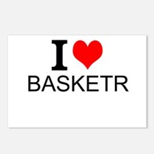 I Love Basketry Postcards (Package of 8)