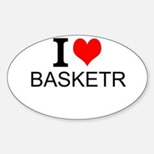 I Love Basketry Decal