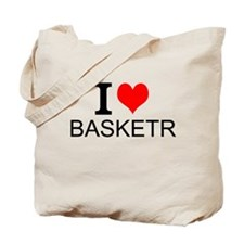 I Love Basketry Tote Bag
