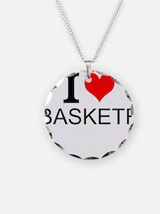 I Love Basketry Necklace