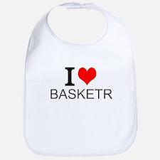 I Love Basketry Bib