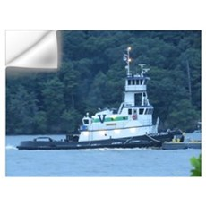 Tug Oyster Creek Wall Decal