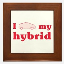 I Love My Hybrid Tile (Framed)
