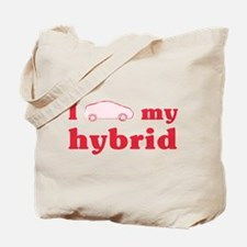 I Love My Hybrid Tote Bag