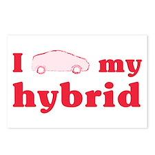I Love My Hybrid Postcards (8 pk)