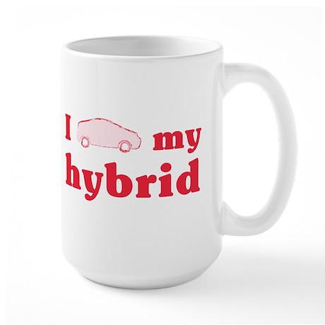 I Love My Hybrid Large Mug
